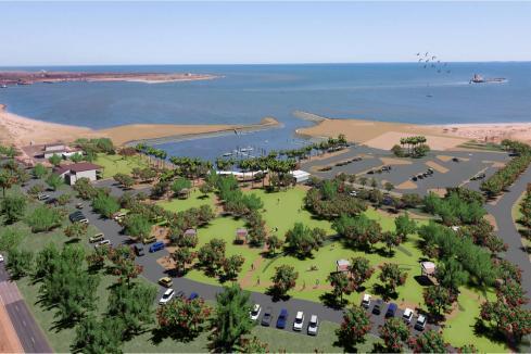 Port Hedland marina one step closer