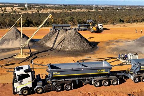 Image onto more high-grade mineral sands at Boonanarring North