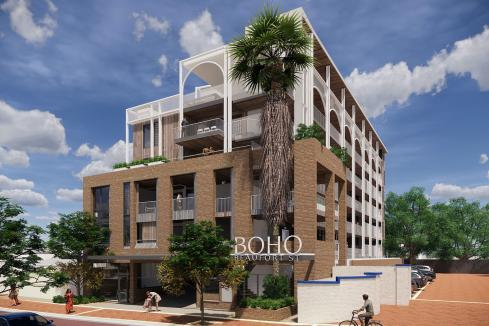 Timber apartments set for Beaufort St