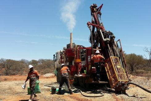 White Cliff drilling at Reedy South
