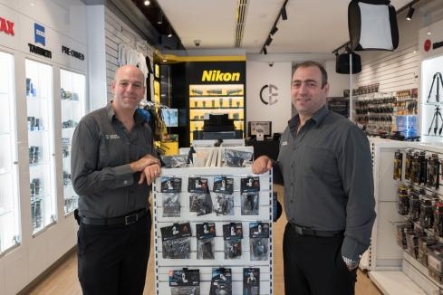 Camera Electronic to open third location