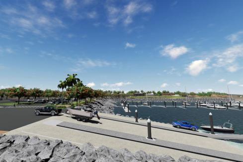 Indigenous contractor to work on Spoilbank Marina