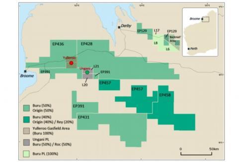 Origin joins Buru in Canning oil and gas hunt