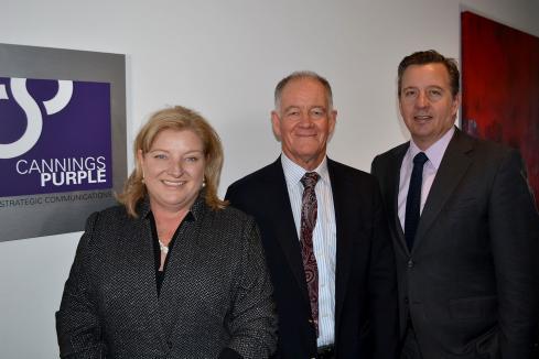 Leadership shift at Cannings Purple