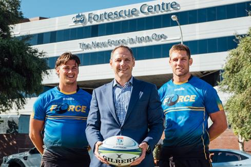 Western Force launches academy with Fortescue