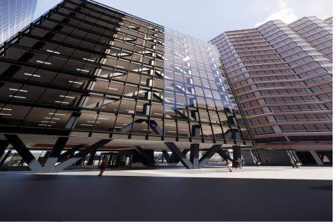 $40m office complex divides