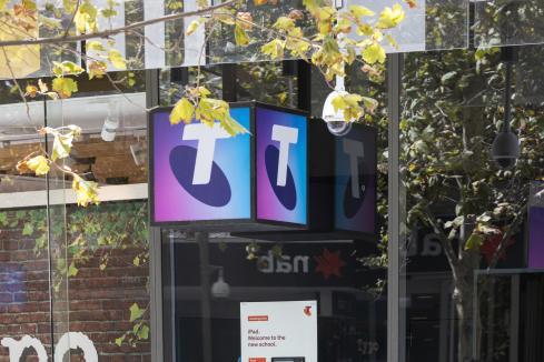 Telstra profit down but investors see hope