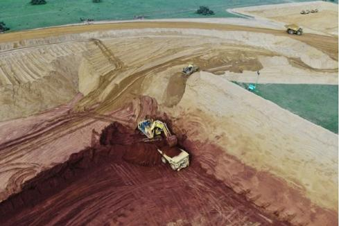 Image achieves record mineral sands production in WA