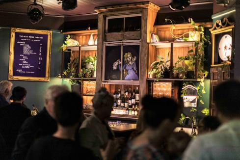 Renovated Blue Room Theatre bar opens