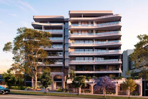 Mosman Park apartments under way