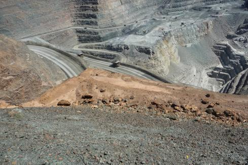 Perenti shares slump as wages, $AU soar