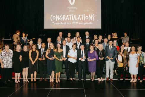 WA volunteers honoured