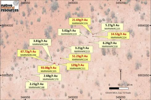 Leonora vein sampling yields more high-grade gold for Native Minerals