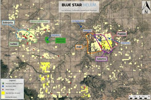 Blue Star Helium on the rise ahead of US drilling start