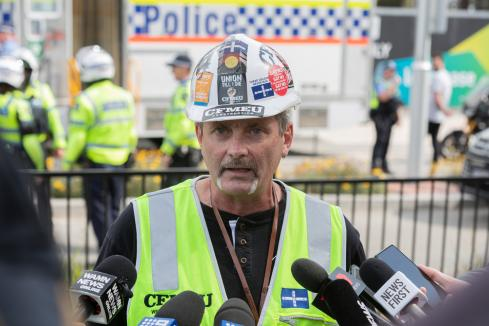 Security of payment reform not enough for CFMEU