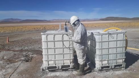 Battery-grade lithium tests deliver a boost for Galan Lithium