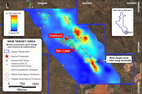 Kairos unveils major nickel copper and gold targets in WA
