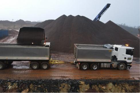 Venture locks in maiden Tassie iron ore shipment