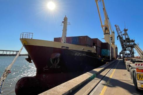 Ships displacing road trains to Pilbara