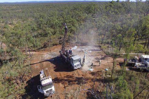 Superior strikes gold with first drill hole near Townsville