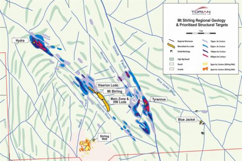 Torian extends Mount Stirling gold system