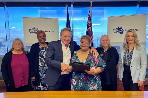 FMG partners with Aboriginal group