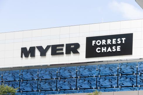 Myer back to full-year profit but no payout