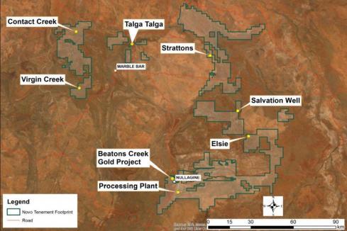 Novo unearths shallow Pilbara gold hits