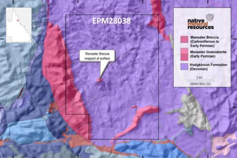 Native Minerals stakes north QLD copper sulphide ground