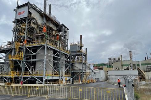BHP opens $100m nickel plant
