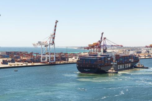 Respite in Freo port strike
