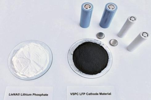 Lithium Australia produces lithium battery anode material