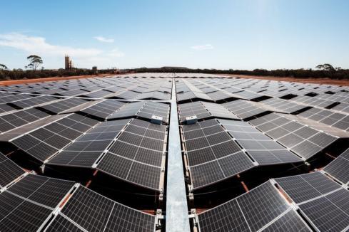 Solar farm commissioned at Carosue Dam