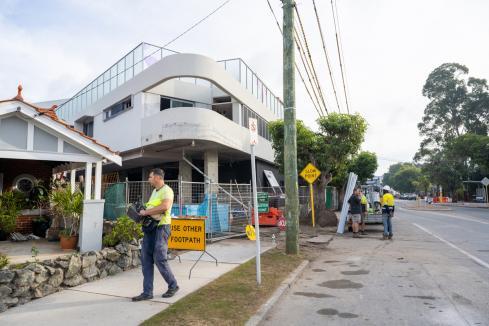 Debts hammer construction sector