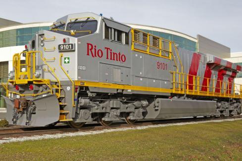 GE, Rio strike rail deal