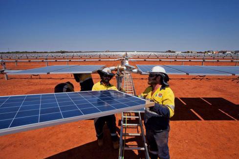 Problems at Sandfire's solar farm