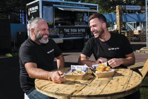 Food trucks drive opportunity