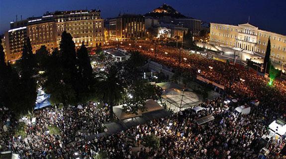Greeks 'framed' in austerity push