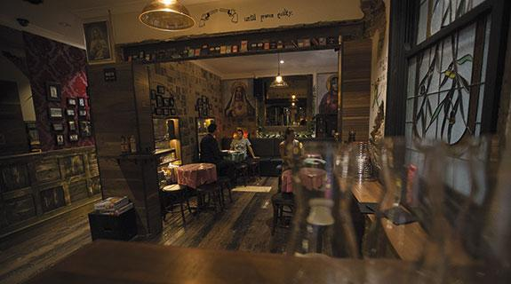 Step back in time for pizza bar