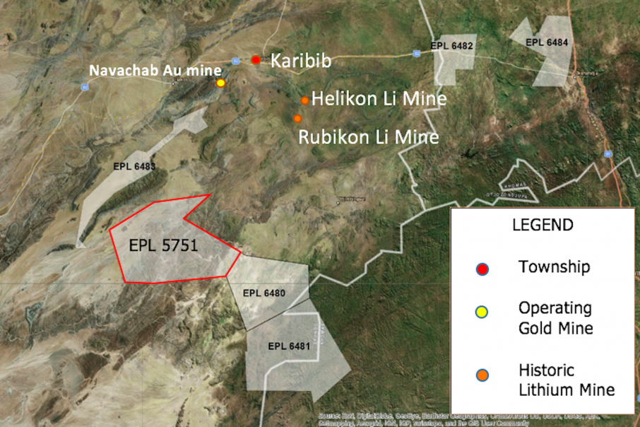 Auroch takes up option in Namibia after 2.73% Lithium Oxide result