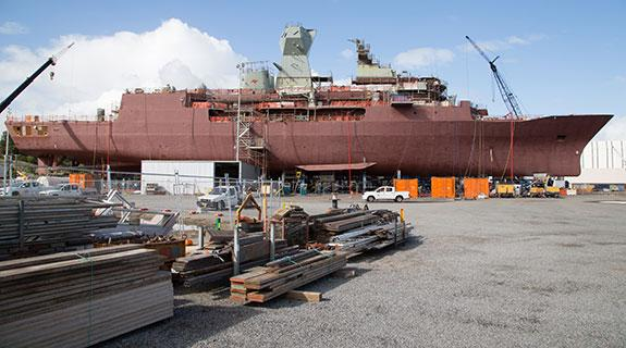 Frigates to be maintained in Henderson