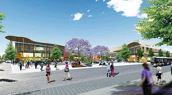 Movement on mall expansions