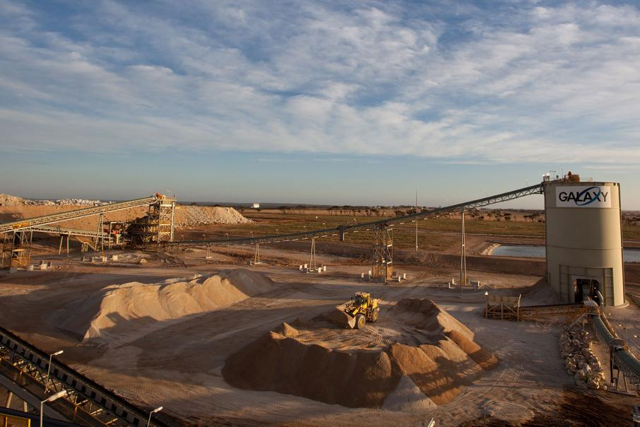Galaxy to merge with General Mining