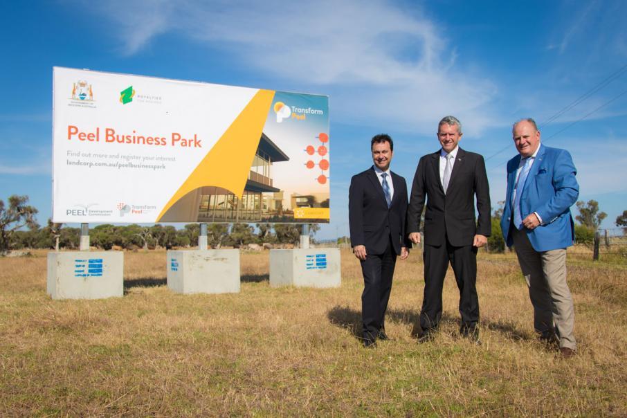 LandCorp launches Nambeelup estate