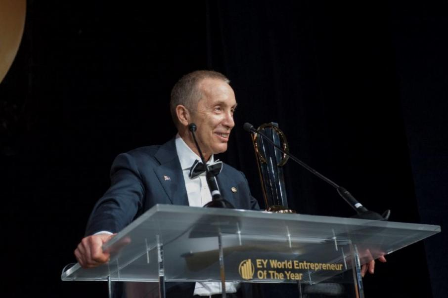 Aussie wins global EY award