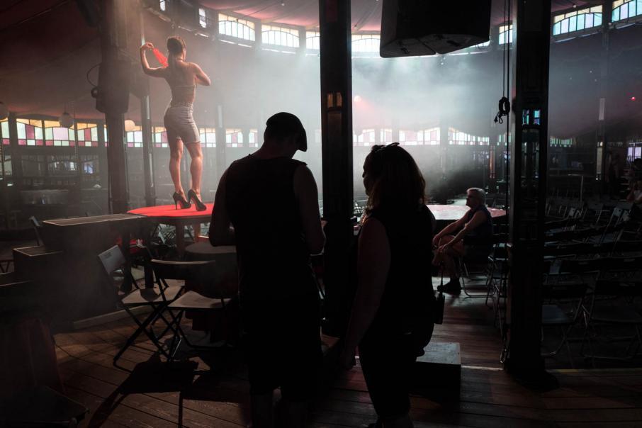 Fringe: The rehearsal