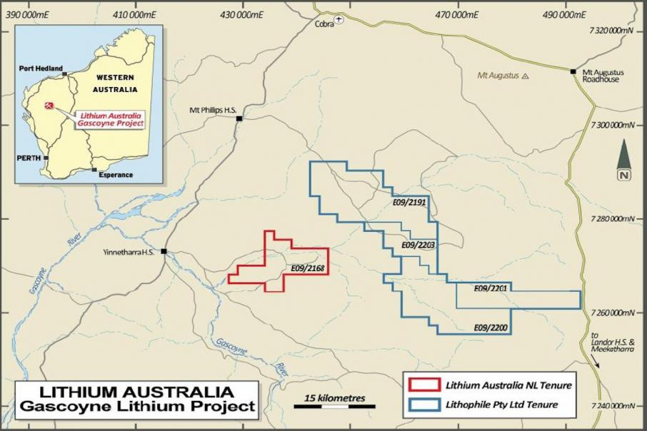 Lithium Australia on hunt for new Lithium provinces in WA and QLD