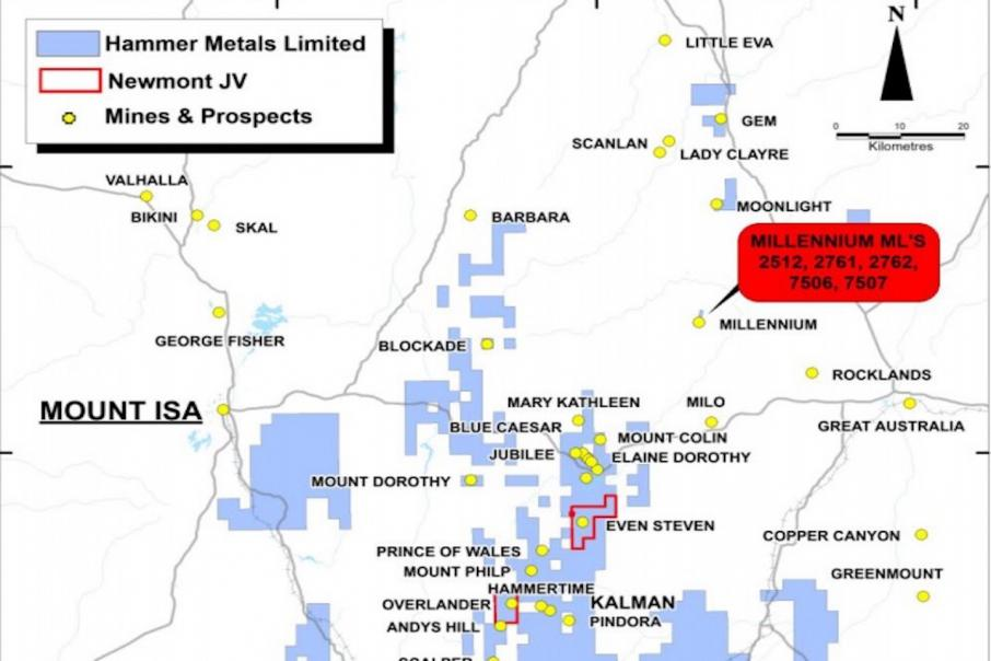 Hammer farms out $83k copper-cobalt acquisition in $2.7m deal