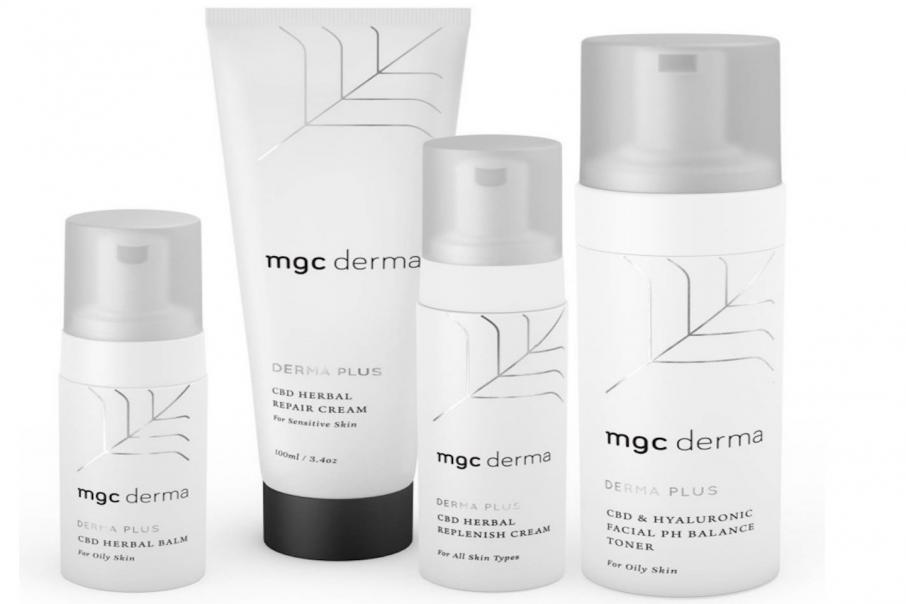 MGC produce significant trial results from cannabis skin care range