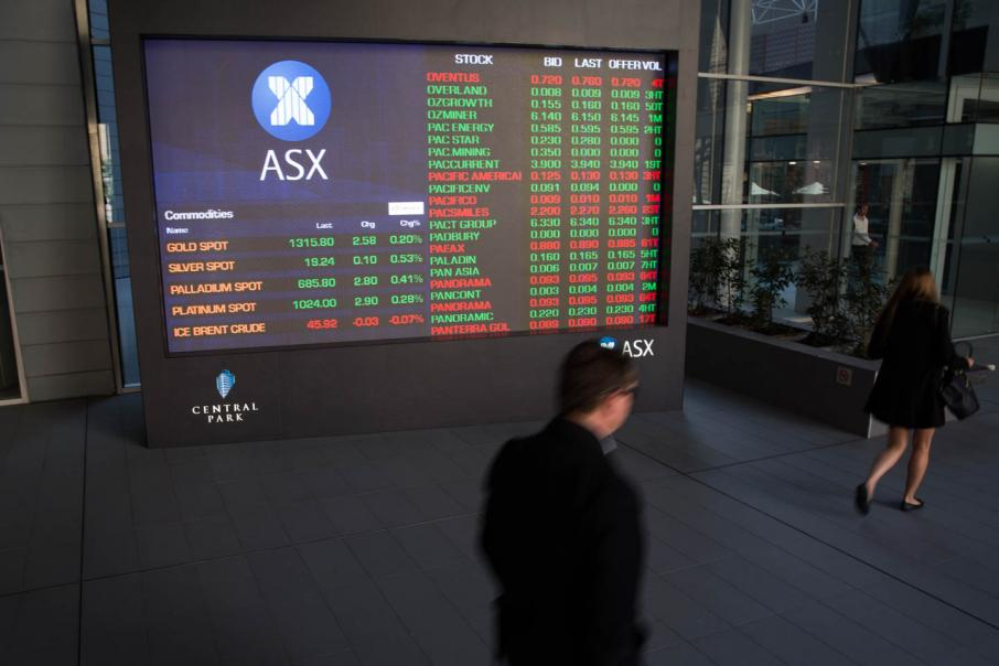 Shares close 44pts higher